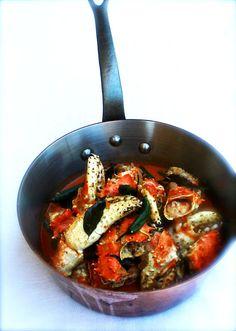 Crab Xacuti, Goan Crab Curry