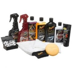 Meguiar's Complete Car Care Kit with Gold Class Car Wash, Microfiber Cloths, and Magnet Towel Bundle Best Car Wash Products, Car Care Products, Diy Guide, High Car, Gold Class, Car Cleaning Hacks, Daily Cleaning, Car Hacks, Cleaning Products