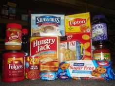 Examples of nonperishable items