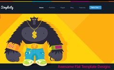 Awesome #Flat Template Designs http://www.webdesign.org/awesome-flat-template-designs.22360.html