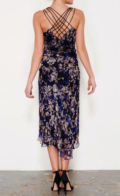 Diane von Furstenberg Black, Royal Blue, Grey And Multicolor Dress