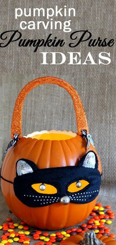DIY Pumpkin Purse by @Diane Henkler {InMyOwnStyle.com} #MPumpkins