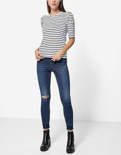 Linda Barbo Liber Jeans calça de ganga push up, do 34 ao