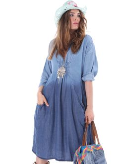 New Season ♥ MOOD FASHION * Denim Dress * Onlineshop lapurpura.com ♥ worldwide shipping  #mood #moodfashion #smartcasual #cotedazur #sttropez #bohochic #business #boho #sportive #casualwear #summer #paris #parisfashion #instafashion #boheme #gypset #gypsy #wanderer #wanderlust #boho #instalike #blogger #milano #bohemian #sttropez #marbella #newyork #summerdenim #jeans #denim
