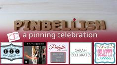 Come on by and link up your pinterest pins. Pinbellish, a pinning celebration!