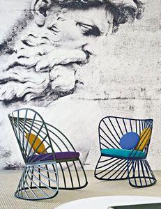 Fauteuil design original / à bascule - SOL by Constance Guisset