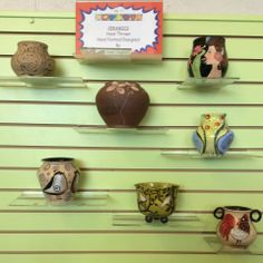 These unique and one of kind containers are made by a local artist Azar Vaghefi. They are hand thrown and painted. A great gift idea or a beautiful treat for yourself. Send Flowers, Fresh Flowers, Local Florist, Flower Delivery, Local Artists, Flower Designs, Flower Arrangements, Print Design, Great Gifts