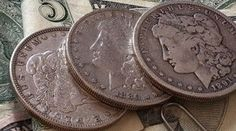 Most Valuable Silver Dollars: A List Of Eisenhower Dollars, Peace Dollars, Morgan Dollars & Others Worth Holding Onto! Rare Coins Worth Money, Valuable Coins, Valuable Pennies, Sell Coins, Us Coins, Coin Dealers, Coin Worth, Peace Dollar, Penny Coin