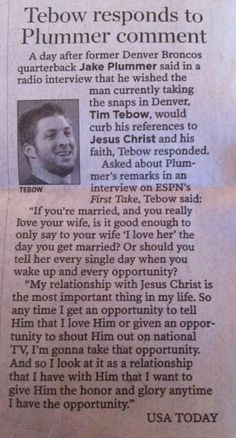 this is why I love Tim tebow.