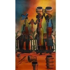 @Overstock - Artist: Chico  Title: Fisher Village Scene   Product type: Canvas Art http://www.overstock.com/Worldstock-Fair-Trade/Chico-Fisher-Village-Scene-Canvas-Art-Malawi/5233419/product.html?CID=214117 $30.49