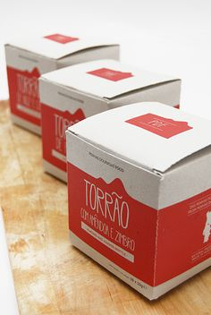 Packaging - PDF - Penhas Douradas Food by INELO , via Behance Behance, Packaging, Concept, Design, Wrapping