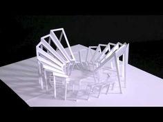 Folded papercut - Impressive!