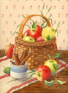 """Apples And Cinnamon"" by Maureen McCarthy"