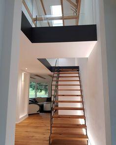 Bauernhaus Umbau Stairs, Home Decor, Farm Cottage, Stairway, Staircases, Interior Design, Ladders, Home Interior Design, Ladder