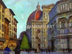 361 Christmas At Florences Doma by Richard Neuman Digital Media ~ 18 x 24