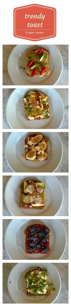 Toast is cool again. Not just boring bread and butter, we're talking healthy toast that's topped with super foods. Ways to stack your toast for breakfast, lunch, snacks or desserts. Lots of kid-friendly ideas too!