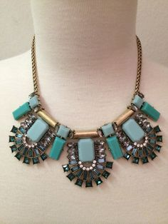 Seafoam/Gold Finish Standout Statement by BellaHarperBoutique