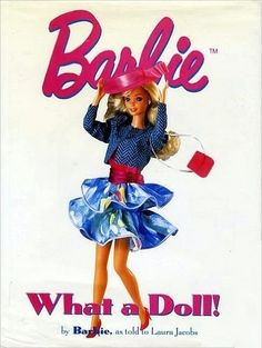 Barbie What A Doll Hardcover First Edition Copy October 1994 Coffee Table Book Oversize Directory History of Life Jacket Global Shipping by SoaringHawkVintage on Etsy