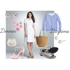 """Dinner or Daytime"" by c-felice on Polyvore"