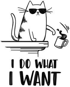 I Do What I Want design (UTH18541) from UrbanThreads.com