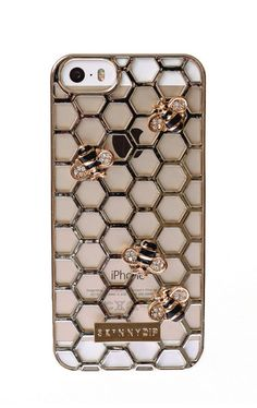 Skinnydip London Bee iPhone 5 Case http://www.skinnydiplondon.com/collections/phone/products/iphone-5-5s-bee-case?variant=889195957