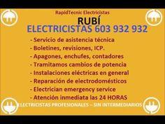 Electricistas RUBÍ 603 932 932 Baratos