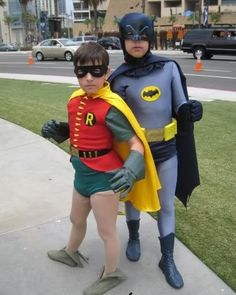 Funny Batman Robin Costumes
