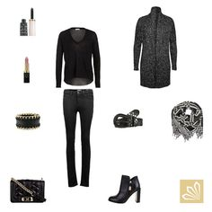 Casual Outfit: Elegant Black Forever. Mehr zum Outfit unter: http://www.3compliments.de/outfit-2015-09-11-x