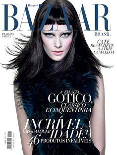 amei a capa da Bazaar deste mês