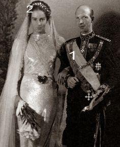 princess Lucia of Bourbon two-Siciles + Eugenio of Savoia, prince of Savoia, duke of Ancona