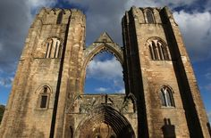 Elgin Cathedral, Scotland, 1224