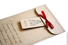 Делаем новогоднюю упаковку. Просто и быстро - Ярмарка Мастеров - ручная работа, handmade