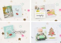 {Happy Scrappy Friends} Blog-Hop November 2014 I Achtung PL-Karten I Using Project Life cards for your #scrapbooking projects   Sandra Dietrich