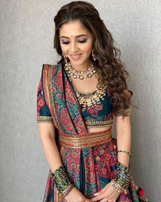 Traditional outfits and those vibes . You can find Wedding nails and more on our website.Traditional outfits and those vibes . Indian Gowns Dresses, Indian Fashion Dresses, Dress Indian Style, Indian Designer Outfits, Indian Designers, Fashion Outfits, India Fashion, Japan Fashion, Fashion Fashion