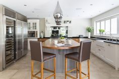 Luxe Contemporary Family Kitchen, Brentwood, Essex