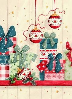 House Exterior Wrap Around Porches Printing Videos Clothes Belts Christmas Mood, Noel Christmas, Christmas Scenes, Christmas Images, Christmas Crafts, Christmas Decorations, Illustration Noel, Christmas Illustration, Illustrations