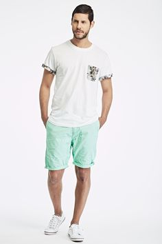 T-Shirt ELEVEN Short SCOTCH & SODA  Baskets FRED PERRY
