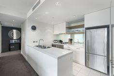 Kitchen at 1 Freshwater Place, Southbank
