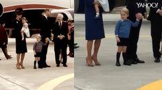 Segundo um especialista em etiqueta, o baby está cumprindo uma tradição aristocrática.