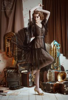Everyone keeps their treasures... by Victoria Bolkina, via Behance