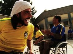 My friend is using Kickstarter to fund a doc on wheelchair basketball in Afghanistan - please see if it touches you http://kck.st/HCodj2