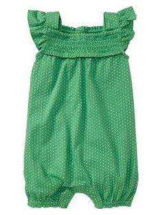 romper - I love this! Now will one of my sisters please have a girl so I can get this for them?!