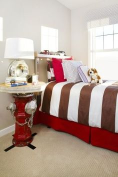 Decorating theme bedrooms - Maries Manor: fire truck bedroom decor ...