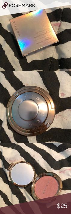 Becca highlighter Becca light chaser highlighter amethyst flashes geode willing to work out a price! BECCA Makeup