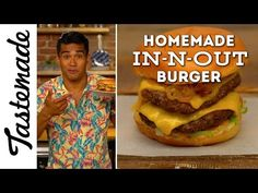Homemade In-N-Out Burger | The Tastemakers-Jordan Andino - YouTube