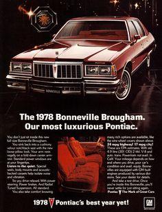 1978 Pontiac Bonneville Brougham.