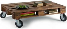 wood pallet coffee table for K & B