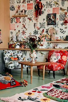Take it from Nathalie Lete- no such thing as too much pattern.