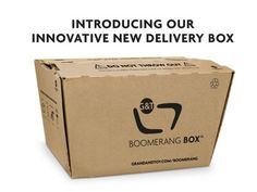 Boomerang Box from Grand & Toy Is A Design Tweak That Changes The Cardboard Box