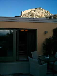 Amfitriti Palazzo Hotel Nafplio,  Palamidi fortress, view from our hotel!!